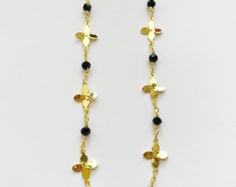 Gold Plated Flower Chain