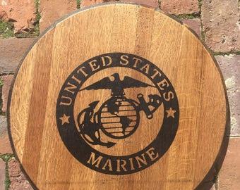 Marine Barrel Kentucky Barrel Head
