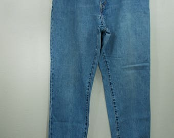 Levis 550 Vintage Late 1980's Levis Jeans 32 33 Waist Red Tab Relaxed Fit Tapered Leg High Waisted Boyfriend Mom Jeans