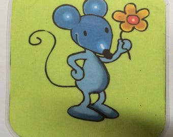 the little mouse coasters