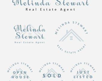 Real estate logo, Real estate logo design, Realty logo, Realtor logo, Real estate branding kit, Real estate branding logo, real estate logos