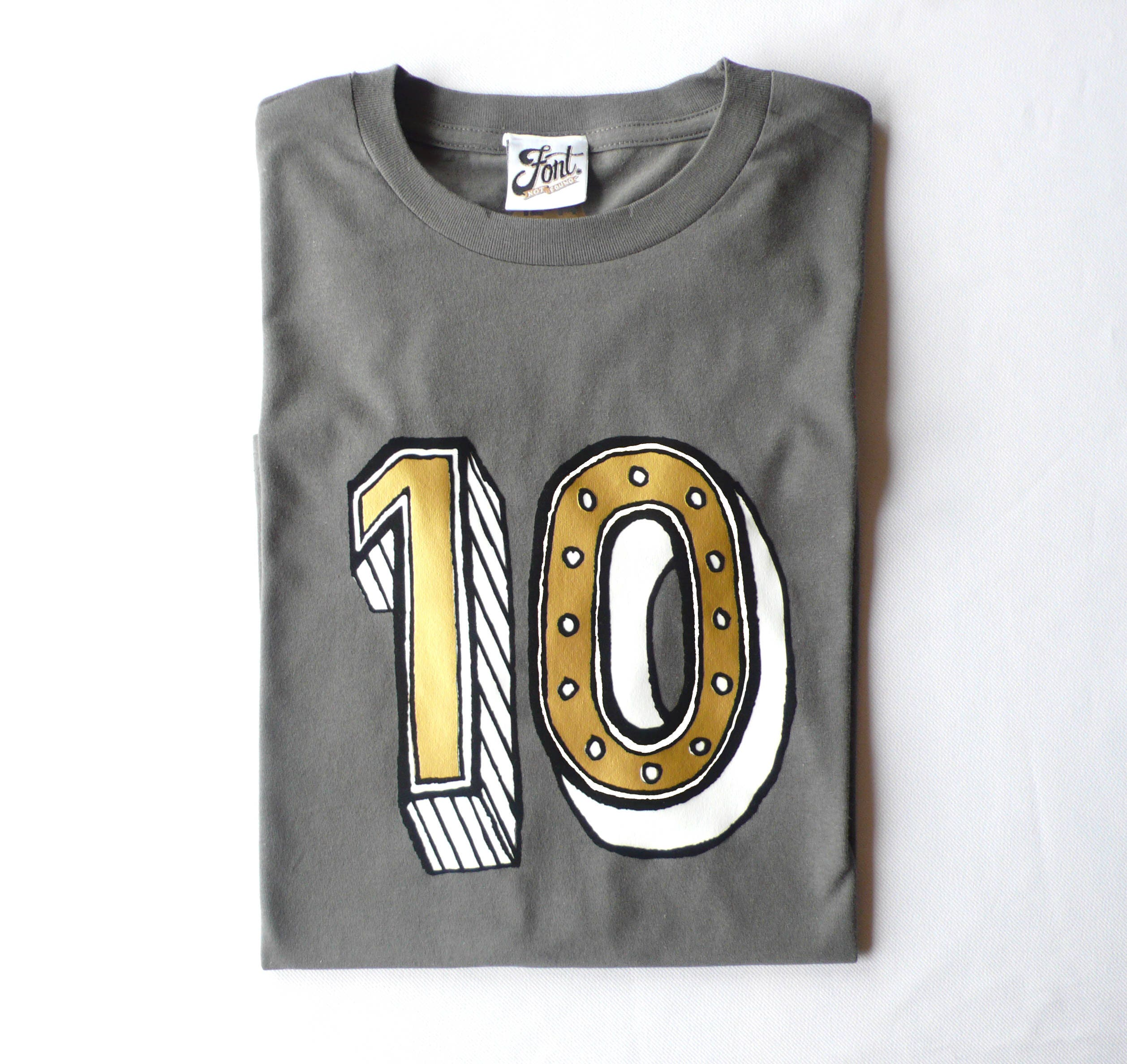 10th Birthday Shirt Ten Outfit Age 10 Year Old Girl Boy Number T Kids Tenth Tshirt Any Size 3 Colours
