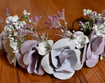 Soft Lavender Flower Crown