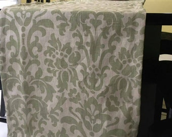 Linen Table runners,  Table Runner, olive green Table Runner, dining Table runners