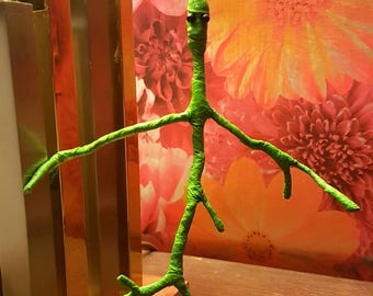 Handmade Medium Pose-able Bowtruckle - Fantastic Beasts - Pickett - Newt Scamander - Harry Potter