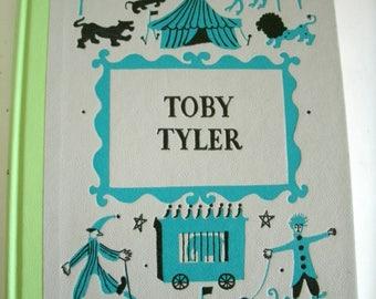 Toby Tyler, James Otis, Leonard Weisgard, Ten Weeks at the Circus, Junior Deluxe, 1958