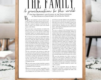 The Family Proclamation, Living Christ, Articles of Faith-READ ITEM DETAILS