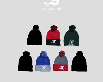 Our Society beanies