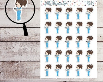 Doctor Character Planner Stickers for all Planners