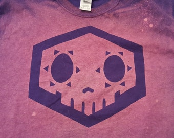 Sombra Symbol from Overwatch Bleached Shirt
