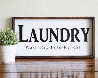 Laundry room decor, Farmhouse decor