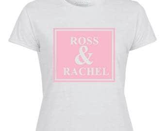 Ross and Rachel Printed Ladies T-Shirt