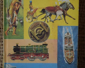 Through the Ages. Transport. A Vintage Ladybird Book. 1973