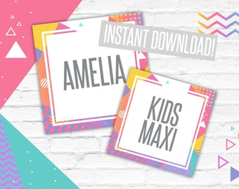 Style Cards, Dividers, Instant Download, Minimal design, Home Office Approved Colors & Fonts, Marketing, LLR, Style Tags