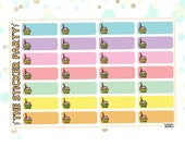 Birthday Reminder Planner Stickers