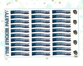 Law & Order SVU TV Show Planner Stickers Law and Order Planner Stickers