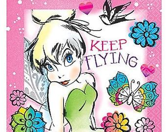 Tinker Bell ''Keep Flying'' Beverage Paper Napkins 16ct