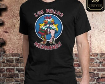Funny Shirt | Los Pollos Hermanos | Walter White | TV Shows Shirts | Breaking Bad | Free Shipping | Gift for him or Her | Cuevex™ Apparel