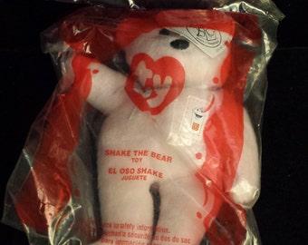 McDonald's TY Teeny Beanie Baby, Shake the Bear, NEW & SEALED