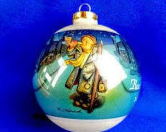 Hummel Christmas Ornament - Hear Ye, Hear Ye
