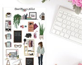 Girl Boss Planner Stickers   Mystery Grab Bag December 2017   Boss Babe Stickers   Lifestyle Stickers (MGB-DEC17)