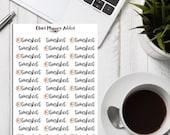 Timesheet Planner Stickers | Timesheet Stickers | Work Tracker | Deadline Tracker | Project Stickers | Work Stickers (S-315)