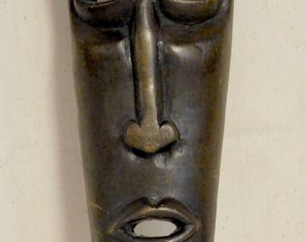 Vintage tourist mask from Africa