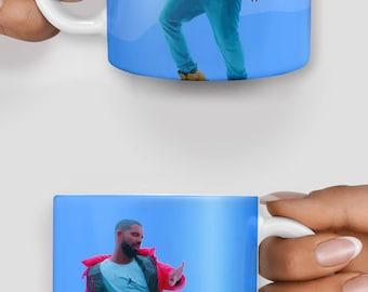 Drake hotline bling mug - Christmas mug - Funny mug - Rude mug - Mug cup 4P033
