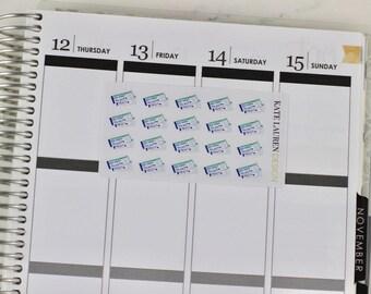 Plane Ticket Planner Stickers, Plane Ticket Stickers, Flight Planner Stickers, Flight Stickers, Travel Planner Stickers