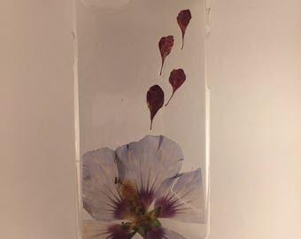 Handmade iPhone 7/8 flower case