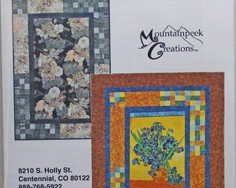 Spotlight by Mountainpeek Creations.  A quilt pattern for panels.
