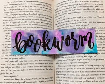 Bookworm Bookmark - Book Lover