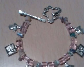 Square crystals and angel charms