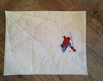 "Breakfast PLACEMAT ""Spiderman""-TEA TOWEL"