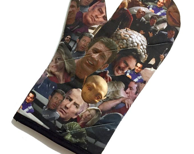 Featured listing image: Galaxy Quest Oven Mitt