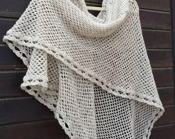Spring Crochet Shawl