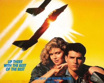 Top Gun Movie Poster A3 or A4 Matt