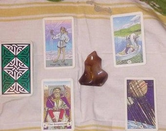 Alchemical Four Card Elemental Reading
