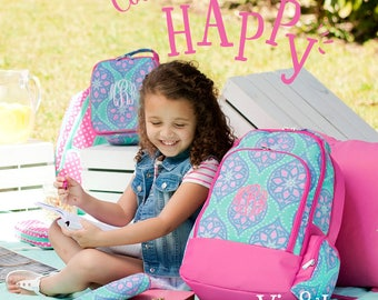FREE PERSONALIZATION~Monogrammed Booksack~ Embroidered Booksack ~ Monogrammed Bag ~ Monogrammed Backpack ~ Personalized Diaper Bag