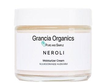 Neroli Body Cream - Body moisturizer - Organic Body Lotion - Natural Lotion - Organic Cream - Organic Moisturizer - paleo - vegan