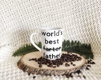 Worlds Best Farter Father Mug, Funny Dad Gift, Worlds Greatest Farter Father, Gift For Dad, Best Dad Coffee Mug, Funny Gift For Dad, Mugs