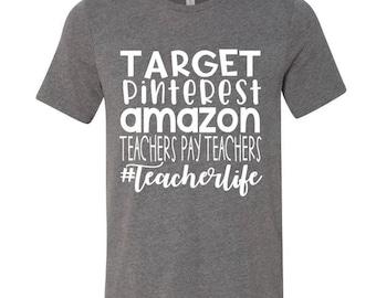 Teacher Life Tee