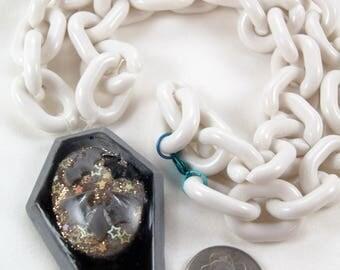 Creepy Cute Coffin necklace