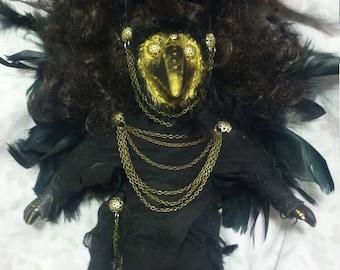 Raven Child Doll
