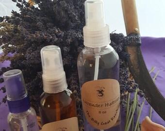 Lavender Hydrosol spritzer, body spray, face tonic, linen spray