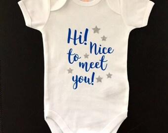 Onesie newborn baby boy or girl