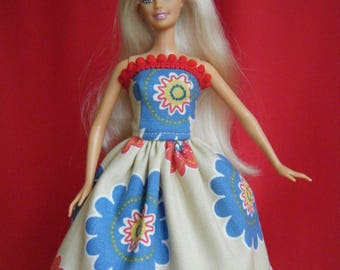 Barbie Dress, barbie clothes, barbie doll clothes, barbie gown, barbie doll dress, fashion doll clothes, fashion doll dress, barbie doll