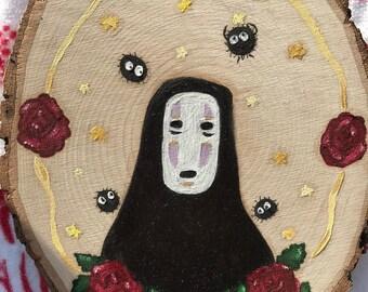 No Face Studio Ghibli Painting