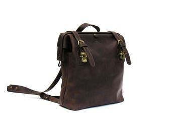 Leather backpack, women leather backpack, mens leather backpack, laptop backpack, leather rucksack, school backpack, leather bag