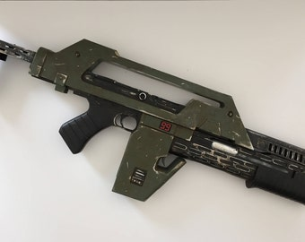Full Scale USCM M41A Pulse Rifle Prop Kit from Aliens Movie for Cosplay or Collection